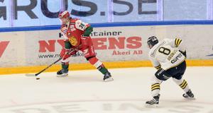 Adam Masuhr och Mora föll mot AIK efter förlängning.