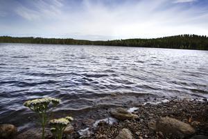 Sjön Tolven är många av ortsbornas favoritställe.