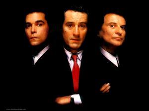 Trion Ray Liotta, Robert De Niro och Joe Pesci spelar i Martin Scorseses mästerverk