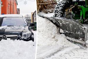 En plog på bilen, det kanske vore nåt? Bild: Fredrik Nilsson / Jon Olav Nesvold/TT