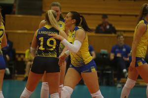 Diana Lundvall, även hon i Örebro Volley, är också uttagen till det svenska landslaget.