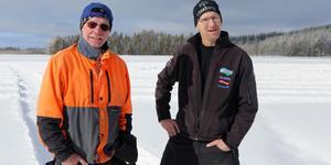Yngve Olofsson och Torben Busk hoppas på stort deltagande i årets AB Karl Hedin Pimpelcup.