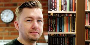Folkets husföreståndaren Adam Gustafsson välkomnar beslutet om att förlägga en biblioteksfilial innanför Forums väggar.