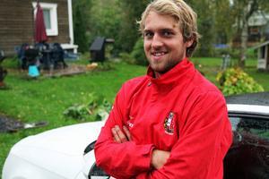 Johannes Grönlund, närmast från Halmstad, är en av Brännans nya spelare inför division 2-säsongen.