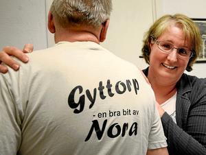Stolthet. Det finns många positiva sidor av Gyttorp att plocka fram och utveckla, framhåller Ulrika Johansson som är en drivande kraft i arbetet med att få byns invånare på fötter. Steget mot utvecklandet av en handlingsplan som ska stärka det lilla samhället är taget.
