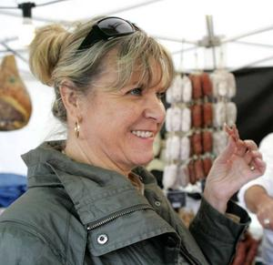 Annette Lindow, ordförande för Östersund handel.