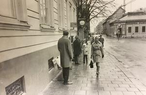 Stora gatan i november 1970.