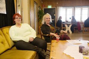 Carola Leijding och Gun Wadstedt Östling startade mötesplatsen Kanalen i december.
