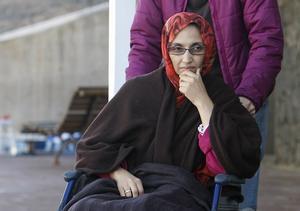 Aminatou Haidar, från Västsahara, hungerstrejkade i tre veckor 2009 på en flygplats i Spanien. Marockanska myndigheter släppte inte in henne i Västsahara eftersom hon inte ville uppge sin nationalitet som marockansk.
