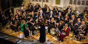 Sala Blåsorkester firade 90 år med att bjuda in till konsert i Missionskyrkan.