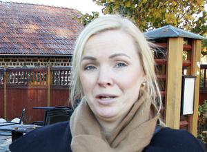 Cecilia Wretling är fastighetsförvaltare på Statens Fastighetsverk som äger värdshuset i Lövstabruk.