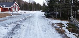 Det är ett tufft läge även vad gäller den vanligtvis så snösäkra terrängen i Harsa.