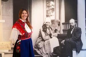 Sonia Bush är fjärde generationen som driver Wålsteds textilverkstad.