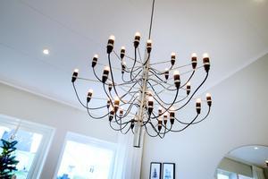 Elin gillar design. Den här lampan är väldigt inne just nu.