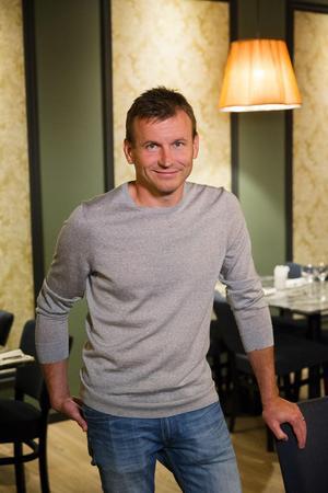 Andreas Zetterdahl grundade restaurangkedjan Blackstone Steakhouse under 2015. Sedan starten har kedjan öppnat restauranger i Falun och Borlänge. Fotograf: Per Eriksson