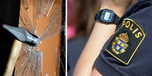 Polisen tog sig in i en bostad med våld när kvinnan slog larm om ett befarat självmordsförsök. Nu ersätts hon av staten för skadorna som uppstod.