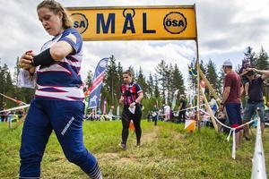 Anna Holmström kollade klockan efter sin målgång.