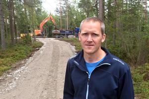 Anders Erlandsson, friluftsstrateg på Sundsvalls kommun.