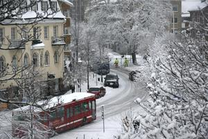 Slutet av 2007 var snöigt.