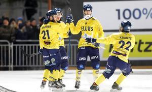 Jonas Enander, här i nummer 21, kom till Motala från Tellus inför den här säsongen. Bild: Christine Olsson/TT.