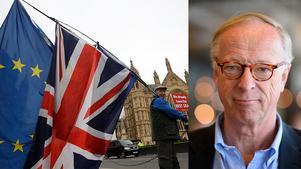 Brexi är ett tragiskt drama för Europa och Storbritannien som nu utspelar sig, menar Gunnar Hökmark (M), EU-parlamentariker. Bilden är ett montage.