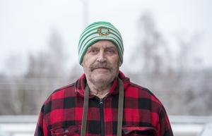 Christer Gillgren, 70 år, pensionerad ordningsvakt, Stöde.