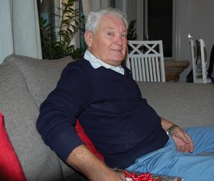 Bosse Söderberg levde för IK Huge. Han blev 84 år gammal. Bild: Privat