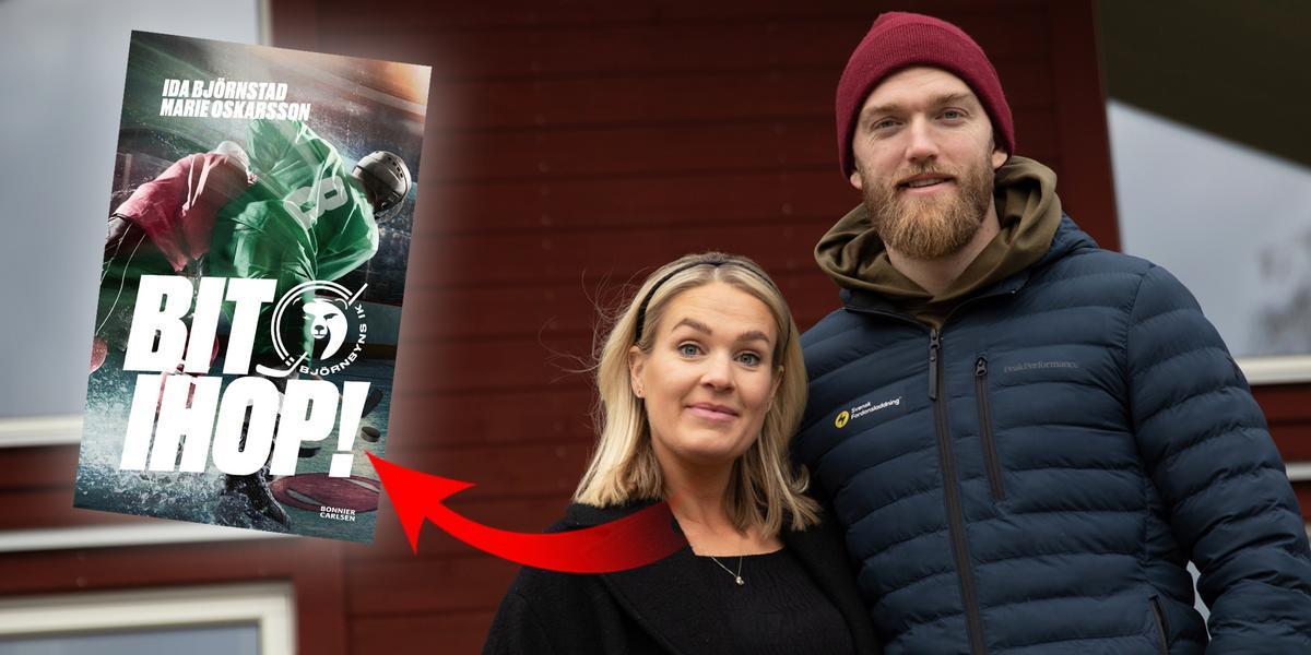 """MIK-profilens fru släpper barnbok om hockey: """"Skildrar en verklighet som är fylld med press på barn"""""""