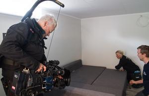 Programmet Sofias änglar som sänds i Kanal fem är inne på sin trettonde säsong. När avsnittet från Kolsva sänds är inte bestämt än, men någon gång under hösten 2019. Här filmar Scott Lakey.