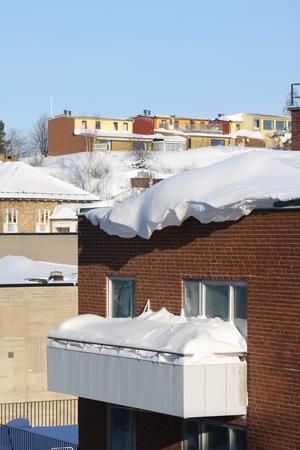Det blev lite skottning vintern 2010...