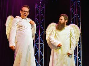 Anders Sandström och Greger Tegelberg har hamnat i himmelriket.