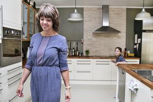 För familjen, som är roade av matlagning, var det viktigt med ett rymligt kök.