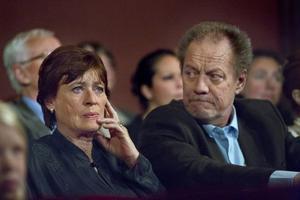 Eva-Britt Strandberg och Lars-Berenett var gifta tidigare. De planerar att ha en gemensam 70-årsfest längre fram i vår. Nästa år syns de båda i SVT-serien Molanders.