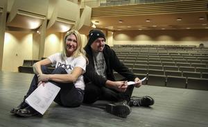 Anna Alverhag och Dan