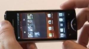 Webb-tv: Sony Ericsson Ray