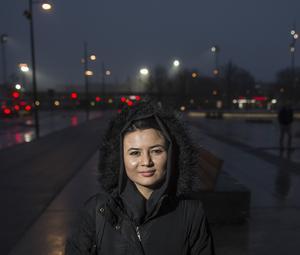 Mahboba Madadi kom ensam från Afghanistan för tre år sedan, nu är hon sedan november ordförande för Ensamkommandes förbund.