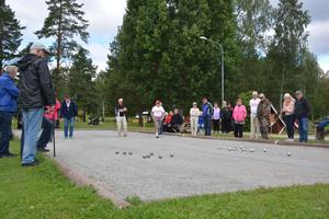 Alby, Ånge, Ljungaverk och Torpshammar tävlade om att få åka till distriktsmästerskapen.