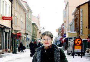 """Kristina Persson, ordförande för tankesmedjan Global Utmaning, och före detta vice riksbankschef: """"Den ekonomiska krisen kan innebära möjligheter för klimatarbetet om krishanteringen fylls med strukturomvandlande åtgärder"""". Foto: Ulrika Andersson"""