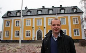 Johan Thomasson, moderat oppositionsråd, vill gärna bli Avestas kommunalråd efter valet nästa höst. Foto: Eva Högkvist
