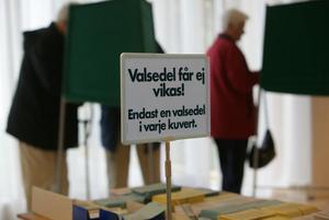 Valdeltagandet ökade i Ljusdals kommun, men det för bara upp kommunen från 283:e till 265:e plats bland landets 290 kommuner.
