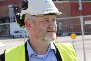 Michael Andersson, chef för Rör på Sandvik Materials Technology (SMT), är nöjd.