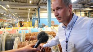 Tomas Nordlund är produktionschef på Hexatronic.