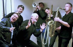 Det ska svänga med Orchestra Six på Hudiksvalls jazzklubb.