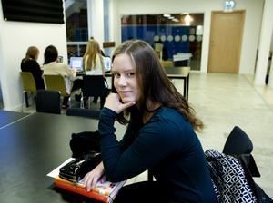 Besviken. Malin Stenström, elev på Carlforsska, kräver stödundervisning.