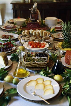 Lokala delikatesser på Mallorca.   Foto: Annika Goldhammer