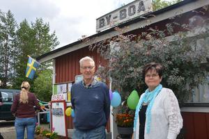Sture Henriksson och Karin Matsson, som varit med sedan början.