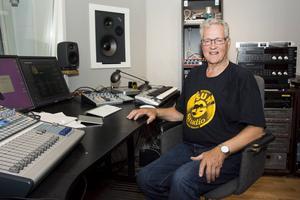 Den egenbyggda studion andas professionalitet och är lite av Stefan Norlins