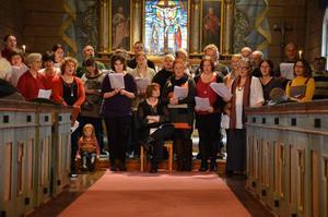 Adventskonsert med Stiftelsen Sanna i Kvistbro kyrka.