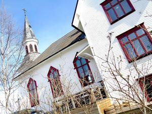 Missionskyrkan i Hagsta byggdes 1910.