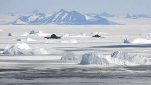 Antarktis i december 2016.